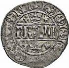 Photo numismatique  ARCHIVES VENTE 2015 -26-28 oct -Coll Jean Teitgen ROYALES FRANCAISES JEAN II LE BON (22 août 1350-18 avril 1364)  54- Blanc aux quadrilobes, 2ème émission (24 janvier 1355).