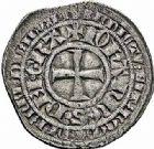 Photo numismatique  ARCHIVES VENTE 2015 -26-28 oct -Coll Jean Teitgen ROYALES FRANCAISES JEAN II LE BON (22 août 1350-18 avril 1364)  61- Gros aux trois lis, 2ème émission (7 juin 1359).