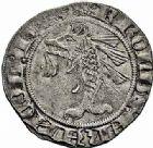 Photo numismatique  ARCHIVES VENTE 2015 -26-28 oct -Coll Jean Teitgen ROYALES FRANCAISES CHARLES V (8 avril 1364-16 septembre 1380)  72- Gros delphinal ou dizain.