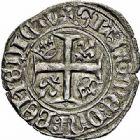 Photo numismatique  ARCHIVES VENTE 2015 -26-28 oct -Coll Jean Teitgen ROYALES FRANCAISES CHARLES VI (16 septembre 1380-21 octobre 1422)  77- Lot de 7 monnaies.