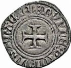 Photo numismatique  ARCHIVES VENTE 2015 -26-28 oct -Coll Jean Teitgen ROYALES FRANCAISES CHARLES VI (16 septembre 1380-21 octobre 1422)  81- Double tournois dit «niquet», (11 août 1421), Troyes