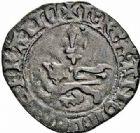 Photo numismatique  ARCHIVES VENTE 2015 -26-28 oct -Coll Jean Teitgen ROYALES FRANCAISES HENRI V, roi de France et d'Angleterre (1415-1422)  85- Niquet ou léopard, (30 novembre 1421), Rouen.