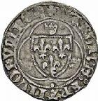 Photo numismatique  ARCHIVES VENTE 2015 -26-28 oct -Coll Jean Teitgen ROYALES FRANCAISES CHARLES VII (30 octobre 1422-22 juillet 1461)  106- Lot de 3 monnaies.
