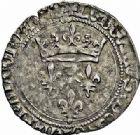 Photo numismatique  ARCHIVES VENTE 2015 -26-28 oct -Coll Jean Teitgen ROYALES FRANCAISES LOUIS XI (22 juillet 1461-30 août 1483)  113- Gros de roi, (31 décembre 1461), Lyon.