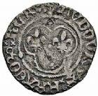 Photo numismatique  ARCHIVES VENTE 2015 -26-28 oct -Coll Jean Teitgen ROYALES FRANCAISES LOUIS XI (22 juillet 1461-30 août 1483)  115- Lot de 3 monnaies.
