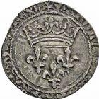 Photo numismatique  ARCHIVES VENTE 2015 -26-28 oct -Coll Jean Teitgen ROYALES FRANCAISES CHARLES VIII (20 août 1483-7 avril 1498)  121- Gros de roi (24 mai 1489), Tournai.