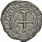Photo numismatique  ARCHIVES VENTE 2015 -26-28 oct -Coll Jean Teitgen ROYALES FRANCAISES CHARLES VIII (20 août 1483-7 avril 1498)  124- Doubletournois (11 septembre 1483), Angers.