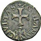 Photo numismatique  ARCHIVES VENTE 2015 -26-28 oct -Coll Jean Teitgen ROYALES FRANCAISES CHARLES VIII (20 août 1483-7 avril 1498)  125- Cavallo (2), Aquila.