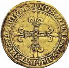 Photo numismatique  ARCHIVES VENTE 2015 -26-28 oct -Coll Jean Teitgen ROYALES FRANCAISES LOUIS XII (8 avril 1498-31 décembre 1514)  126- Écu d'or au soleil (25 avril 1498), Villeneuve-lès-Avignon (1507).