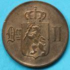 Photo numismatique  MONNAIES MONNAIES DU MONDE NORVEGE OSCAR II (1872-1907) 5 ore de 1876.