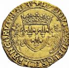 Photo numismatique  ARCHIVES VENTE 2015 -26-28 oct -Coll Jean Teitgen ROYALES FRANCAISES LOUIS XII (8 avril 1498-31 décembre 1514)  128- Écu d'or au porc-épic (19 novembre 1507), Toulouse (1508-1515).