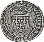 Photo numismatique  ARCHIVES VENTE 2015 -26-28 oct -Coll Jean Teitgen ROYALES FRANCAISES LOUIS XII (8 avril 1498-31 décembre 1514)  129- Teston (6 avril 1514), Lyon.