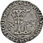 Photo numismatique  ARCHIVES VENTE 2015 -26-28 oct -Coll Jean Teitgen ROYALES FRANCAISES LOUIS XII (8 avril 1498-31 décembre 1514)  132- Lot de 2 monnaies.