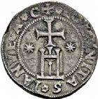 Photo numismatique  ARCHIVES VENTE 2015 -26-28 oct -Coll Jean Teitgen ROYALES FRANCAISES LOUIS XII (8 avril 1498-31 décembre 1514) Monnaies frappées en Italie, (1499-1512) 137- Teston d'argent, Gênes (1507-1512).