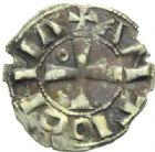 Photo numismatique  MONNAIES MONNAIES DU MONDE ORIENT LATIN Rois d'ANTIOCHE, Bohémond III, minorité (1149-1163) Denier.