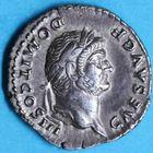 Photo numismatique  MONNAIES EMPIRE ROMAIN DOMITIEN César (69-81) Auguste (81-96)  Denier.