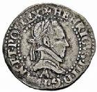 Photo numismatique  ARCHIVES VENTE 2015 -26-28 oct -Coll Jean Teitgen ROYALES FRANCAISES HENRI III (30 mai 1574–2 août 1589) Monnayage au nom d'Henri III 211- 1/4 de franc au col plat, Paris 1578.