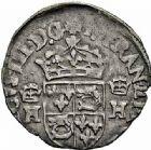 Photo numismatique  ARCHIVES VENTE 2015 -26-28 oct -Coll Jean Teitgen ROYALES FRANCAISES HENRI III (30 mai 1574–2 août 1589) Monnayage au nom d'Henri III 218- Lot de 2 monnaies.