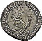 Photo numismatique  ARCHIVES VENTE 2015 -26-28 oct -Coll Jean Teitgen ROYALES FRANCAISES LA LIGUE au nom d'HENRI III (1589-1596)  223- Lot de 2 monnaies.