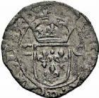 Photo numismatique  ARCHIVES VENTE 2015 -26-28 oct -Coll Jean Teitgen ROYALES FRANCAISES CHARLES X, roi de la Ligue (2 août 1589-9 mai 1590)  229- Lot de 2 monnaies.