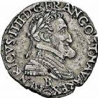 Photo numismatique  ARCHIVES VENTE 2015 -26-28 oct -Coll Jean Teitgen ROYALES FRANCAISES HENRI IV (2 août 1589-14 mai 1610)  235- 1/4 de franc, Rouen 1606.