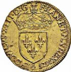 Photo numismatique  ARCHIVES VENTE 2015 -26-28 oct -Coll Jean Teitgen ROYALES FRANCAISES LOUIS XIII (16 mai 1610-14 mai 1643)  258- Écu d'or au soleil, Paris 1615.