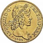 Photo numismatique  ARCHIVES VENTE 2015 -26-28 oct -Coll Jean Teitgen ROYALES FRANCAISES LOUIS XIII (16 mai 1610-14 mai 1643)  265- Médaille en or, datée Paris 1640.