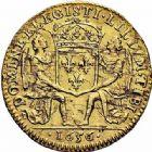 Photo numismatique  ARCHIVES VENTE 2015 -26-28 oct -Coll Jean Teitgen ROYALES FRANCAISES LOUIS XIV (14 mai 1643-1er septembre 1715)  303- Lis d'or, Paris 1656.
