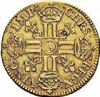 Photo numismatique  ARCHIVES VENTE 2015 -26-28 oct -Coll Jean Teitgen ROYALES FRANCAISES LOUIS XIV (14 mai 1643-1er septembre 1715)  304- Louis d'or juvénile lauré, Paris 1668.