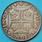Photo numismatique  MONNAIES MONNAIES DU MONDE PORTUGAL JEAN prince régent (1799-1816) 400 reis de 1814.