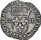 Photo numismatique  ARCHIVES VENTE 2015 -26-28 oct -Coll Jean Teitgen ROYALES FRANCAISES LOUIS XIV (14 mai 1643-1er septembre 1715)  322- 1/4 d'écu, 1er type, Bordeaux 1645.