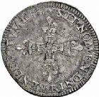 Photo numismatique  ARCHIVES VENTE 2015 -26-28 oct -Coll Jean Teitgen ROYALES FRANCAISES LOUIS XIV (14 mai 1643-1er septembre 1715)  323- 1/4 d'écu, 1er type, Arras 1643.
