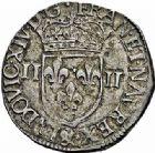 Photo numismatique  ARCHIVES VENTE 2015 -26-28 oct -Coll Jean Teitgen ROYALES FRANCAISES LOUIS XIV (14 mai 1643-1er septembre 1715)  326- 1/4 d'écu, 2ème type, Aix 1644.