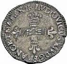 Photo numismatique  ARCHIVES VENTE 2015 -26-28 oct -Coll Jean Teitgen ROYALES FRANCAISES LOUIS XIV (14 mai 1643-1er septembre 1715)  329- 1/4 d'écu de Béarn, Morlaàs 1646.