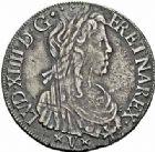 Photo numismatique  ARCHIVES VENTE 2015 -26-28 oct -Coll Jean Teitgen ROYALES FRANCAISES LOUIS XIV (14 mai 1643-1er septembre 1715)  342- Écu de Navarre à la mèche longue, Saint-Palais 1654.