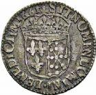 Photo numismatique  ARCHIVES VENTE 2015 -26-28 oct -Coll Jean Teitgen ROYALES FRANCAISES LOUIS XIV (14 mai 1643-1er septembre 1715)  344- 1/12ème d'écu de Navarre à la mèche longue, Saint-Palais 1661.