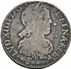 Photo numismatique  ARCHIVES VENTE 2015 -26-28 oct -Coll Jean Teitgen ROYALES FRANCAISES LOUIS XIV (14 mai 1643-1er septembre 1715)  347- 1/4 d'écu de Béarn à la mèche longue, Pau 1653.