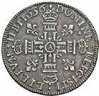 Photo numismatique  ARCHIVES VENTE 2015 -26-28 oct -Coll Jean Teitgen ROYALES FRANCAISES LOUIS XIV (14 mai 1643-1er septembre 1715)  349- Lis d'argent, Paris 1656.