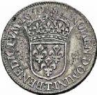 Photo numismatique  ARCHIVES VENTE 2015 -26-28 oct -Coll Jean Teitgen ROYALES FRANCAISES LOUIS XIV (14 mai 1643-1er septembre 1715)  351- 1/2 écu au buste juvénile, Nantes 1659.