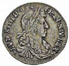 Photo numismatique  ARCHIVES VENTE 2015 -26-28 oct -Coll Jean Teitgen ROYALES FRANCAISES LOUIS XIV (14 mai 1643-1er septembre 1715)  353- 1/12ème d'écu au buste juvénile, Montpellier 1661.