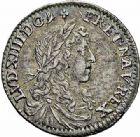 Photo numismatique  ARCHIVES VENTE 2015 -26-28 oct -Coll Jean Teitgen ROYALES FRANCAISES LOUIS XIV (14 mai 1643-1er septembre 1715)  355- 1/12ème d'écu du Dauphiné au buste juvénile, Grenoble 1660.