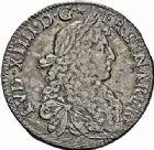 Photo numismatique  ARCHIVES VENTE 2015 -26-28 oct -Coll Jean Teitgen ROYALES FRANCAISES LOUIS XIV (14 mai 1643-1er septembre 1715)  357- Écu de Béarn au buste juvénile, Pau 1679.