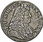 Photo numismatique  ARCHIVES VENTE 2015 -26-28 oct -Coll Jean Teitgen ROYALES FRANCAISES LOUIS XIV (14 mai 1643-1er septembre 1715)  361- 1/2 écu à la cravate, 1er type, Paris 1681.