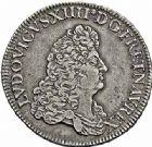 Photo numismatique  ARCHIVES VENTE 2015 -26-28 oct -Coll Jean Teitgen ROYALES FRANCAISES LOUIS XIV (14 mai 1643-1er septembre 1715)  369- Écu de Flandre (dit «carambole»), Lille, 1686.