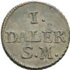 Photo numismatique  MONNAIES MONNAIES DU MONDE SUEDE CHARLES XII (1697-1718) 1 daler de 1716.