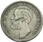 Photo numismatique  MONNAIES MONNAIES DU MONDE SUEDE OSCAR II (1872-1907) Couronne de 1884.
