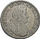 Photo numismatique  ARCHIVES VENTE 2015 -26-28 oct -Coll Jean Teitgen ROYALES FRANCAISES LOUIS XIV (14 mai 1643-1er septembre 1715)  399- Écu de Béarn aux huit L du 2ème type, Pau 1704.
