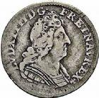 Photo numismatique  ARCHIVES VENTE 2015 -26-28 oct -Coll Jean Teitgen ROYALES FRANCAISES LOUIS XIV (14 mai 1643-1er septembre 1715)  408- 1/20ème d'écu aux trois couronnes, Paris 1713.
