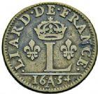 Photo numismatique  ARCHIVES VENTE 2015 -26-28 oct -Coll Jean Teitgen ROYALES FRANCAISES LOUIS XIV (14 mai 1643-1er septembre 1715)  413- Lot de 3 monnaies.