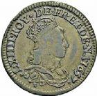 Photo numismatique  ARCHIVES VENTE 2015 -26-28 oct -Coll Jean Teitgen ROYALES FRANCAISES LOUIS XIV (14 mai 1643-1er septembre 1715)  415- Lot de 5 liards.